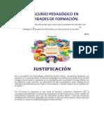 Desarrollo_el Discurso Pedagógico en Actividades de Formación