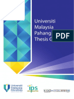 Thesis Guidelines V2