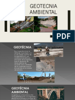Finalidad de Geotecnia Ambiental