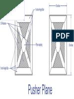 Log Splitter - Pusher Plane
