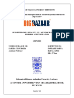 A Study Fo Promotional Strategies in Retail Sector With Spectial Reference to (Big Bazaar)- Saurabh Barua
