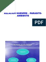 Relación Huésped -Parásito Ambiente
