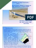 Planeamiento de Aprovech.hídrico Tacna