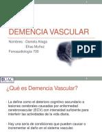 Demencia Vascular 1