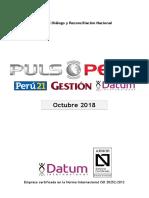 500-0118 - PULSO Octubre 2018 - Informe Corrupción