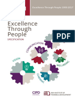 Excellence Through People 2017 Spec