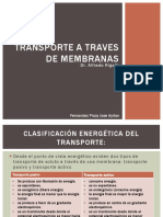 Transporte a Traves de Membranas