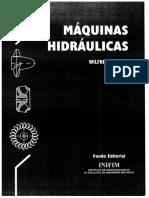 358127240 Libro Maquinas Hidraulicas Wilfredo Jara PDF