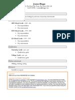 Functional Resume Alternative