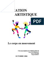 Eps Et Creation que Le Corps en Mouvement