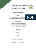 Conceptos Basicos de Salud Ocupacional