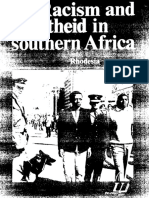 Segregation and Apartheid in Belgian Congo, Rhodesia and South Africa