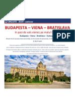 Autocar - Budapesta Viena Bratislava 2019