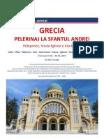 Autocar - Grecia 2019 - Pelerinaj La Sf. Andrei-Sf. Nectarie