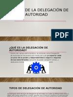 Filosofía de La Delegación de Autoridad