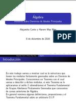 PresentacionFinal Algebra