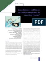 1. Las Adicciones en México