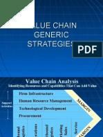 Value Chain Generic Strategies 2