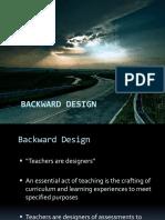 1 Chapter 1-Backward Design