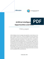 Ai Opportunities and Risks