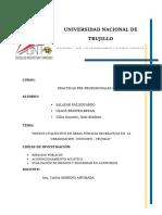 TRABAJO DE INVESTIGACIÓN DE ESPACIOS PÚBLICOS EN LA URBANIZACIÓN DE COVICORTI TRUJILLO PERU