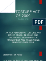 Anti Torture Act of 2009