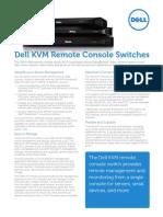 Dell KVM Remote Console Switch Spec Sheet