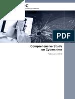 Comprehensive Study on Cybercrime
