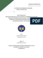 01. Laporan Penelitian Pendidikan Karakter Dr. Slamet S%2C M.Ed. 1.pdf