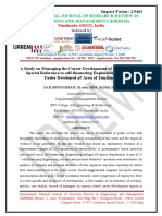 A Study on Managing the Career Development of Employees With Self-financeing Engineering Colleges InTamilanu .