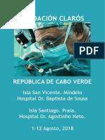 Viaje Humanitario Cabo Verde 2018