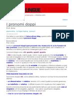 i Pronomi Doppi
