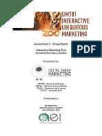 UM701 Final Group Project Marketing 02-10-18