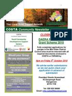 COSTA Newsletter - Oct 2018