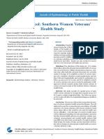Study Protocol Southern Women Veterans Health Study