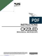 Manual Book Microscope CX22 LED