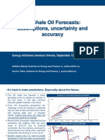 US Shale Oil Forecasts