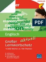 Grosser Lernwortschatz Englisch
