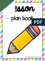 Free Lesson Plan Binder