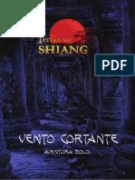ReOps - Terras de Shiang - Vento Cortante - Aventura Solo - Biblioteca Élfica