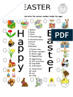 Easter Vocabulary Matching A2.2.doc