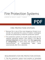 Aircraft Fire Protection Systems
