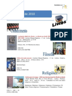 Novidades SETEMBRO 2010