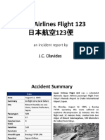 Japan Airlines Flight 123 Report