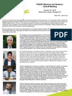 PQCNC Kickoff Meeting Agenda 2019
