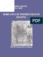 30 Mil años de Prehistoria en Bolivia - Ibarra Grasso y Querejazu Lewis.pdf