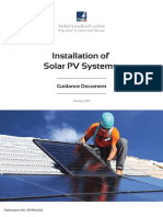 Solar Pv Installation Guidance Document