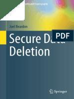 Secure Data Deletion - Joel Reardon