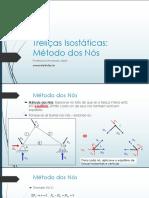 Aula 04 - Treliças Isostáticas_Método_dos_Nós