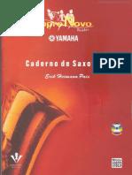[Cliqueapostilas.com.Br] Caderno de Saxofone